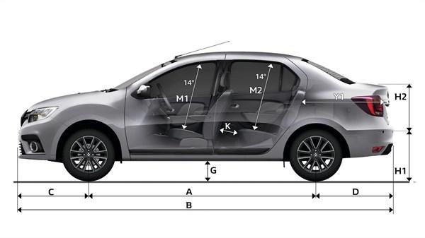 Dimensions Specs Renault Symbol Renault Iraq